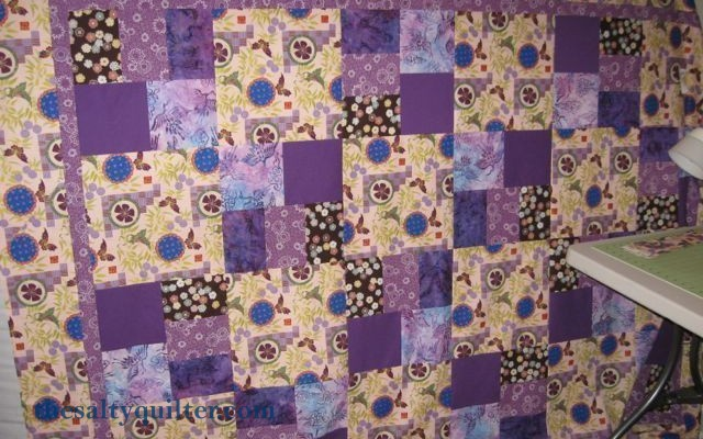 The Salty Quilter - Amanda's Butterflies