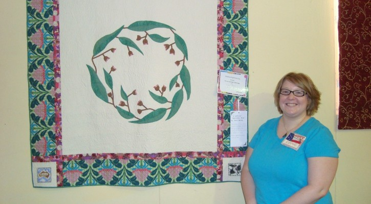 The Salty Quilter - I still Call Australia Home - At the show