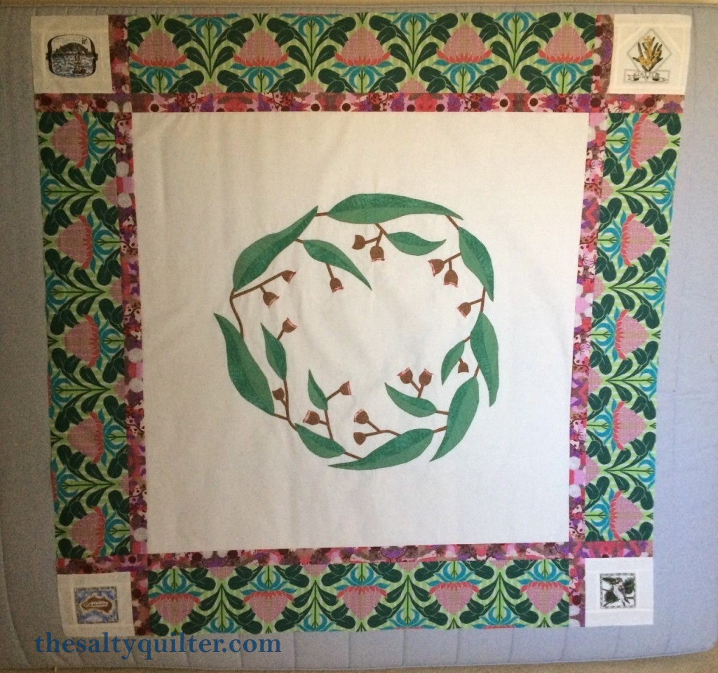 The Salty Quilter - I still Call Australia Home - Quilt Top