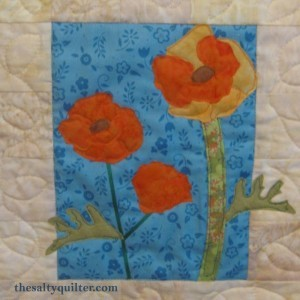 The Salty Quilter - California Poppies