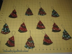 The Salty Quilter - Christmas Tree Ornaments
