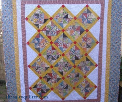 The salty Quilter - Hazel's Pinwheels - Finished