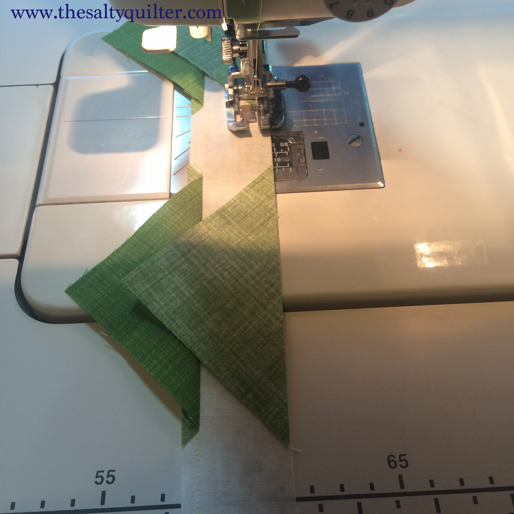 Low Waste Signature Block - sew opposite HSTs