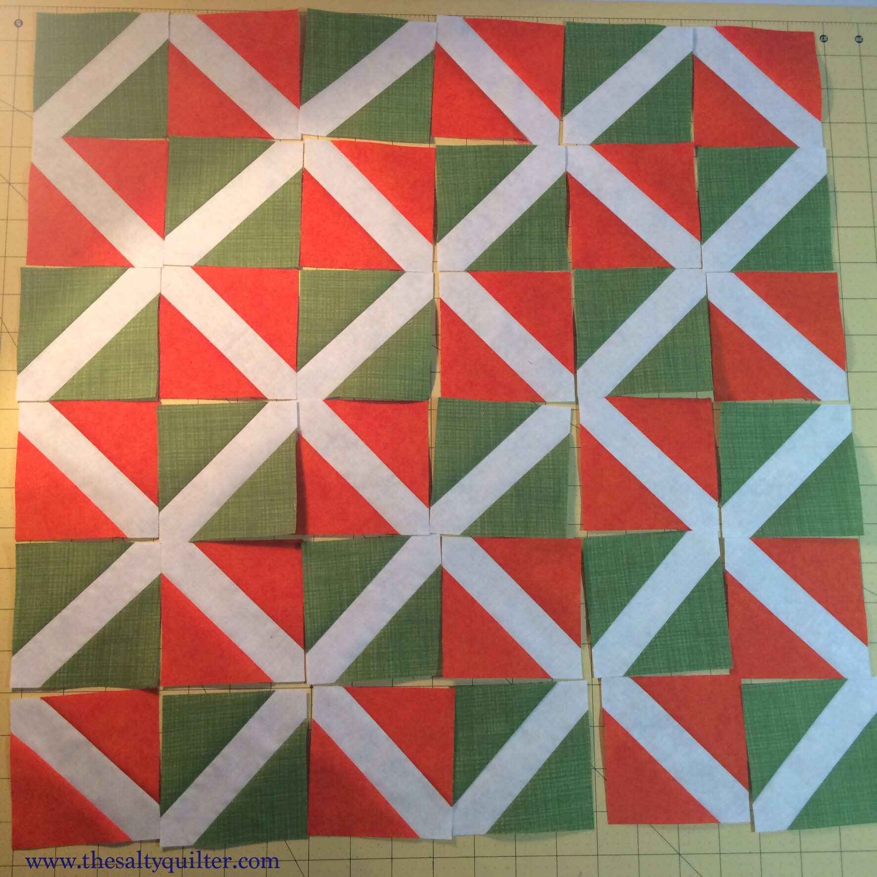 Low Waste Signature Block - lattice layout
