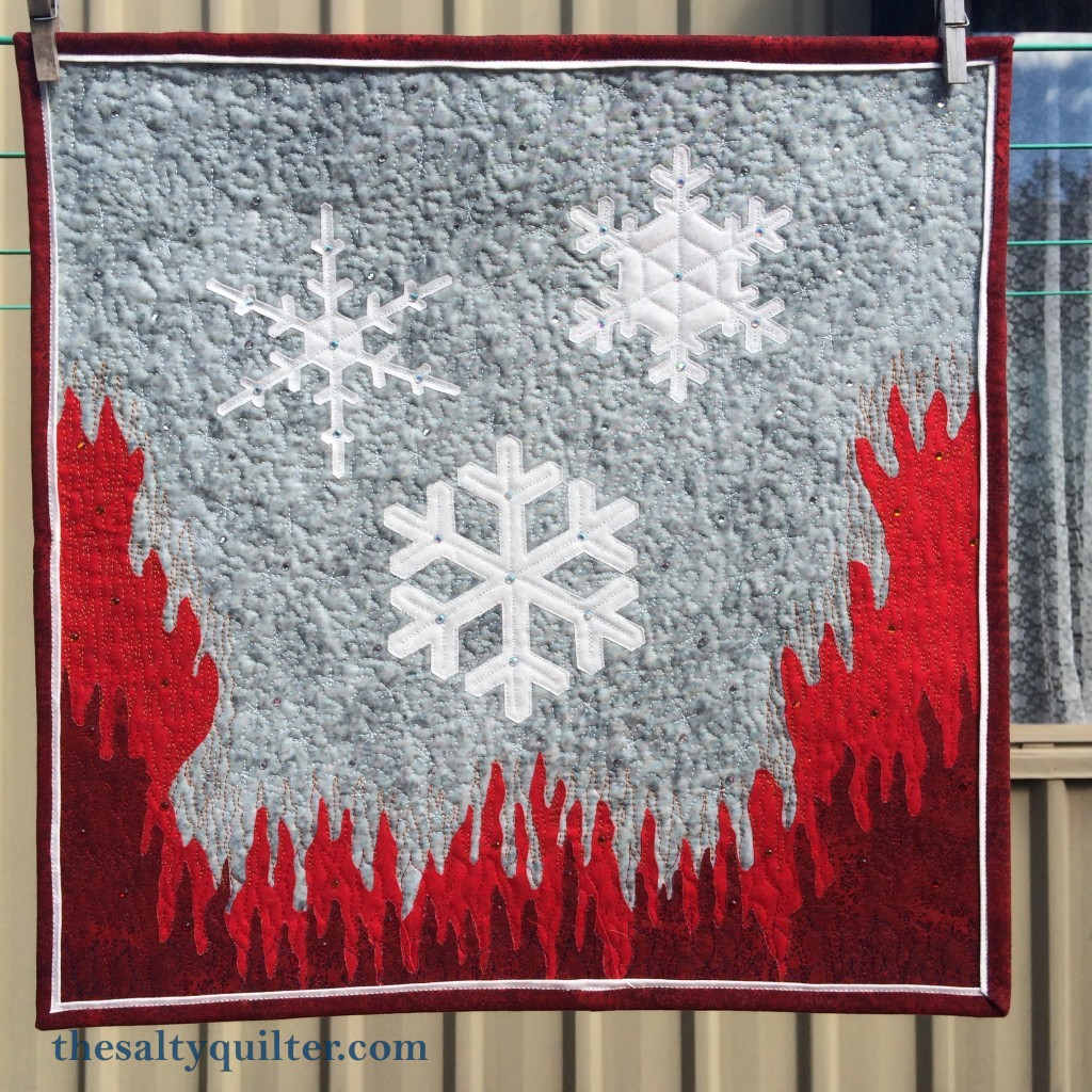 The Salty Quliter - A Song of Ice and Fire Quilt