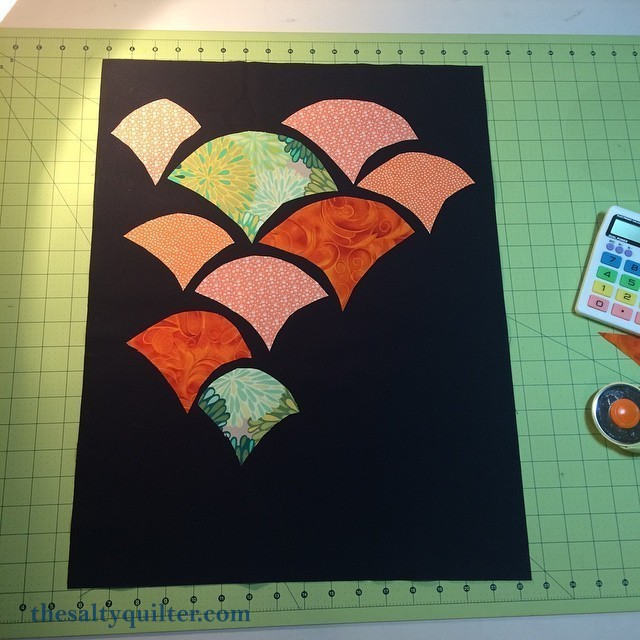 I'll be Clammed - quilt top