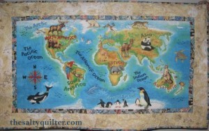 The Salty Quilter - Jack's World - Finished