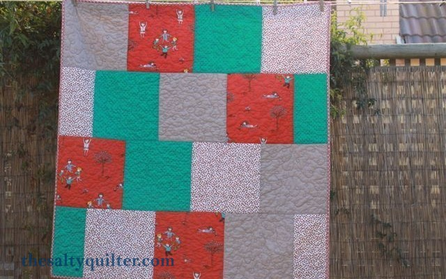 The Salty Quilter - Modern Baby - Finished