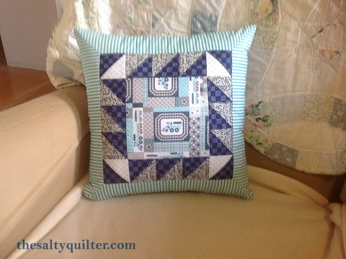 The Salty Quilter - Mystery Train - Pillow