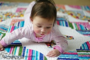 The Salty Quilter - Pampered Path - Baby