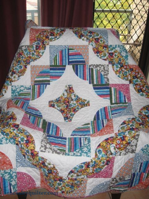 The Salty Quilter - Pampered Path - Finished