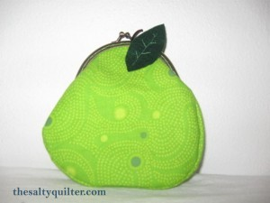 The Salty Quilter - Pear Purse
