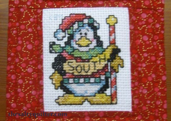 The Salty Quilter - Penguin Ornament