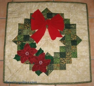 Poinsettia Wreath