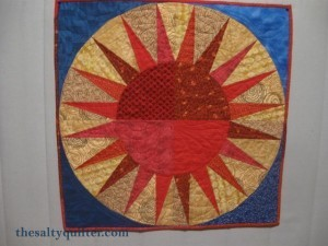 The Salty Quilter - Points of Pride - Finished