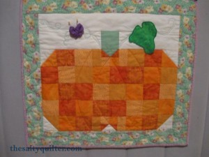 The Salty Quilter - Reproduction Pumpkin