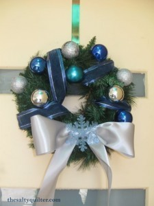 The Salty Quilter - Silver Wreath