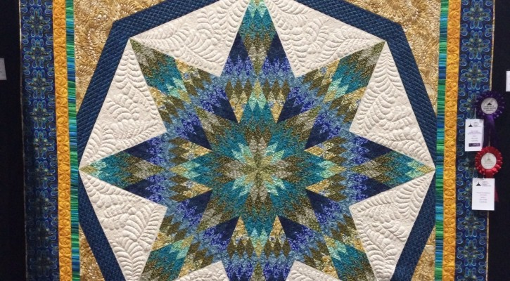The Salty Quilter - Star of India - Canberra Exhibition