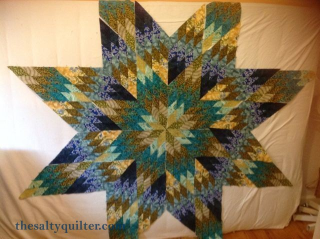 The Salty Quilter - Star of India - Star