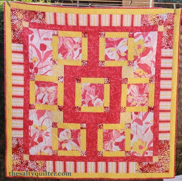 The Salty Quilter - Taking Flight - Finished