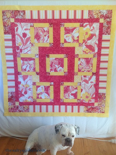 The Salty Quilter - Taking Flight - quilt top approved