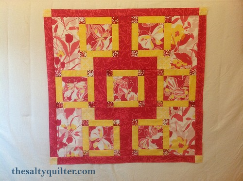 The Salty Quilter - Taking Flight - quilt top