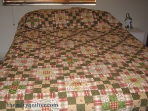 The Salty Quilter - The Promise of Spring - finished