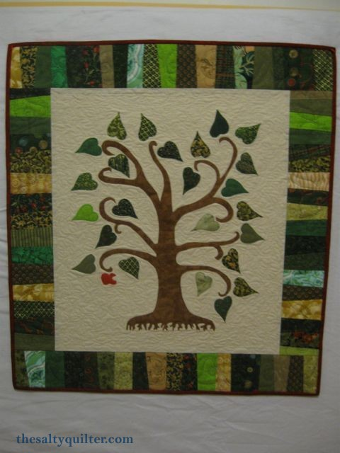 The Salty Quilter - Tree of Knowledge - Finished