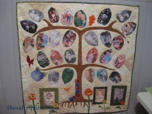 The Salty Quilter - Tree of Life - Finished
