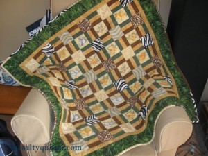 The Salty Quilter - Wild Side - Finished