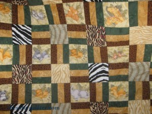 The Salty Quilter - Wild Side - Close up