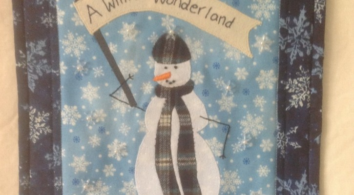 The Salty Quilter - Winter Wonderland