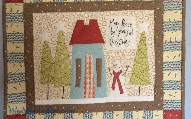 The Salty Quilter - Home for the Holidays - Finished