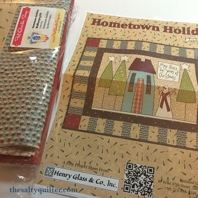 The Salty Quilter - Home for the Holidays - Kit