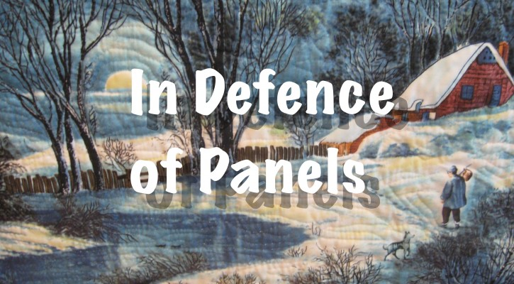The Salty Quilter - In Defence of Panels