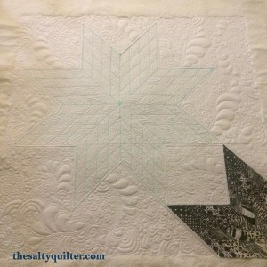 Broken Star - quilted