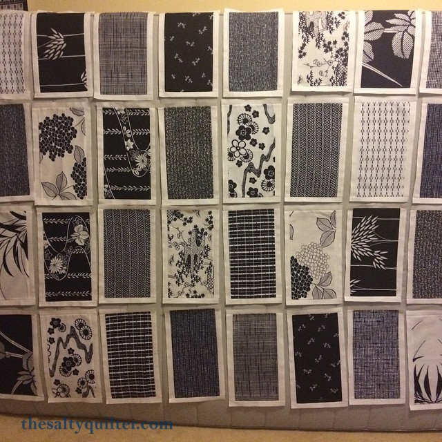 The Salty Quilter - Zen - Block layout