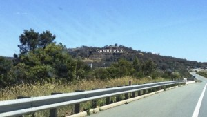 Canberra sign (doesn't actually exist)