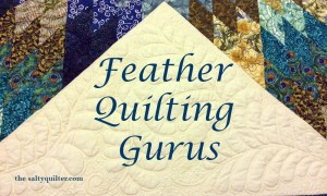 The Salty Quilter - Feather Quilting Gurus