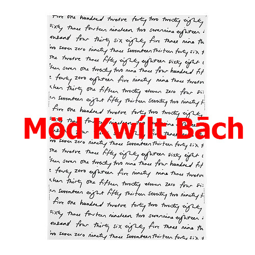 The Salty Quilter - IKWLTA - Mod Kwilt Bach