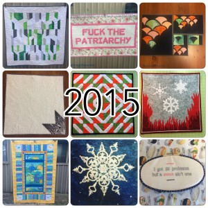 The Salty Quilter - 2015 Year in Review