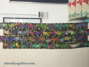 The Salty Quilter - Sydney NYE - Quick Curve Ruler - Alternative layout option